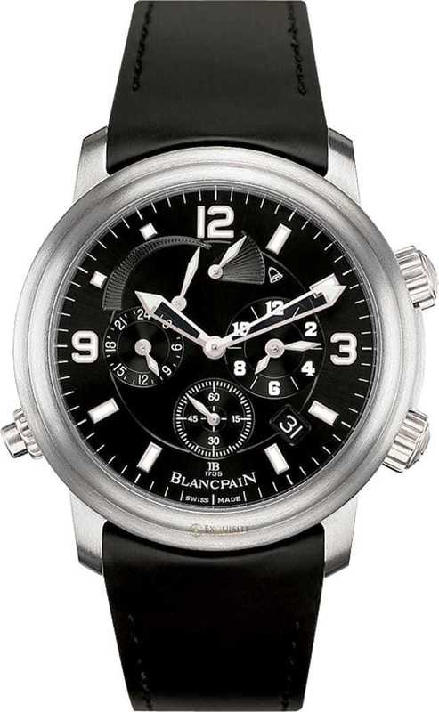 Blancpain Leman GMT Alarm Date 2041-1230-64B