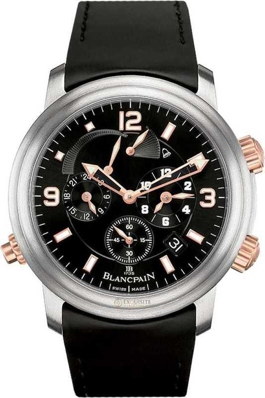 Blancpain Leman GMT Alarm Date 2041-12A30-64B