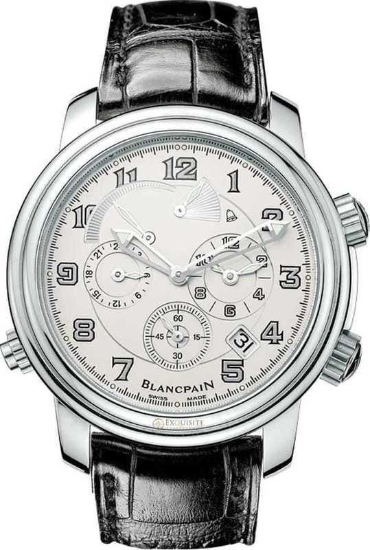 Blancpain Leman GMT Alarm Date 2041-1542M-53B