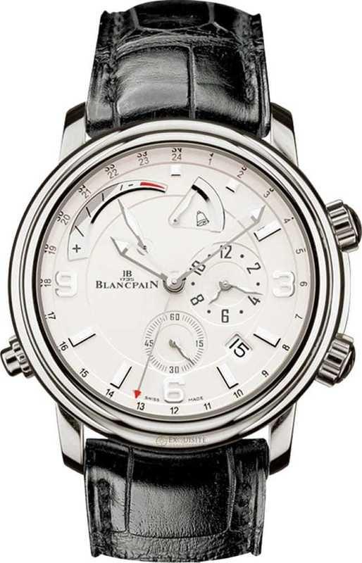 Blancpain Leman GMT Alarm Date 2841-1542-53B