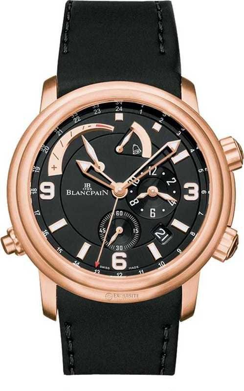 Blancpain Leman GMT Alarm Date 2841-36B30-64B