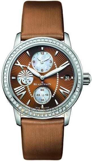 Blancpain Women's Double Time Zone 3760-1946-52B
