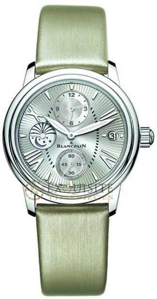 Blancpain Women's Double Time Zone 3760-1136-52B