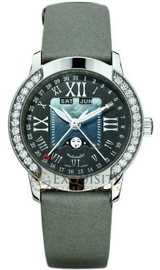 Blancpain Women Complete Calendar with Moon Phase 3253-6044A-52B