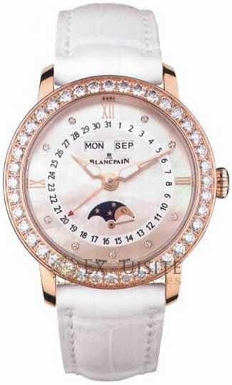 Blancpain Women Complete Calendar with Moon Phase 3663-2954-55B