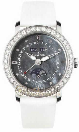 Blancpain Women Complete Calendar with Moon Phase 3663-4654L-52B