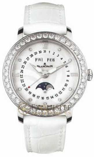 Blancpain Women Complete Calendar with Moon Phase 3663A-4654-55B