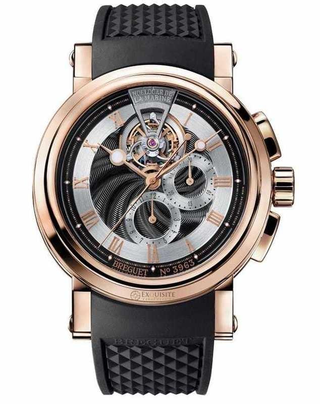 Breguet Marine Tourbillon chronograph 5837BR/92/5ZU