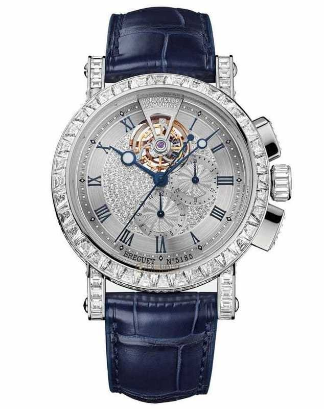 Breguet Marine Tourbillon High Jewellery Chronograph 5839BB/6D/9ZU/DDOD