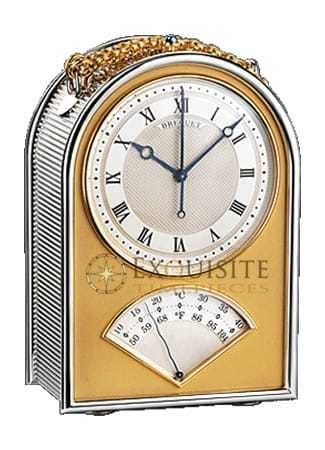 Breguet Classique Silver Table Clock6190/AG/12