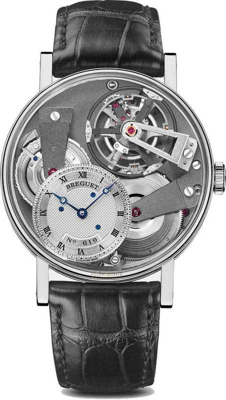 Breguet La Tradition Fusee Tourbillon 7047PT/11/9ZU