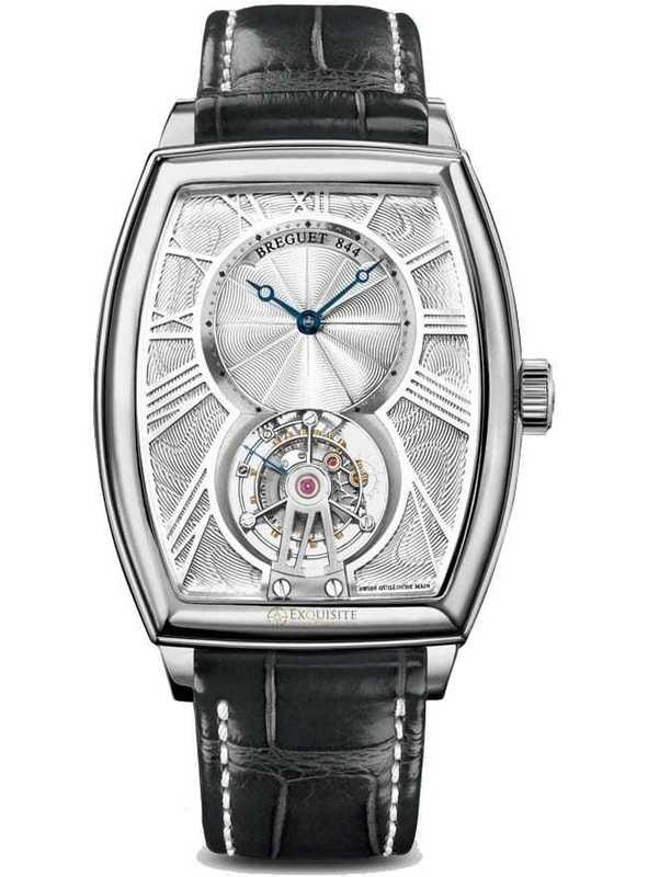 Breguet Heritage Tourbillon Wristwatch 5497PT/12/9V6