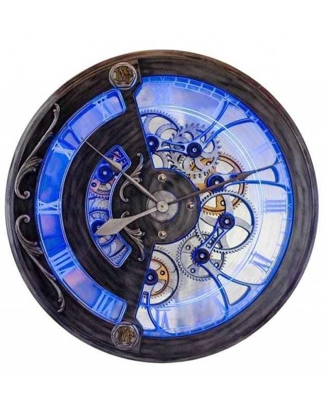 Dale Mathis Behalf Clock Gun Metal