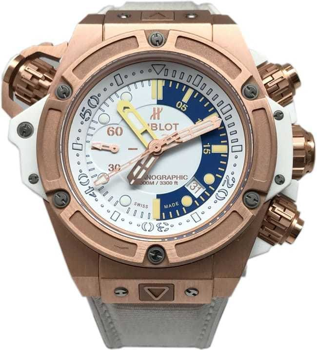 Hublot King Power Oceanographic 1000 King Gold Chronograph