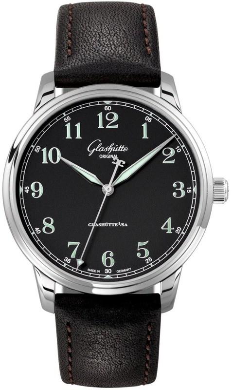 Glashütte Original Senator Excellence Stainless Steel Black Dial 1-36-59-03-02-01