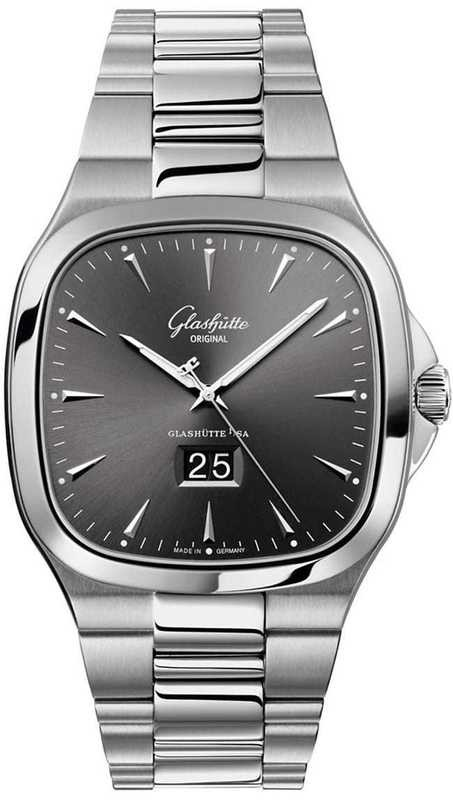Glashütte Original Seventies Panorama Date 39-47-12-12-14