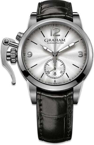 Graham Chronofighter Classic Silver Dial 2CXAS.S07A