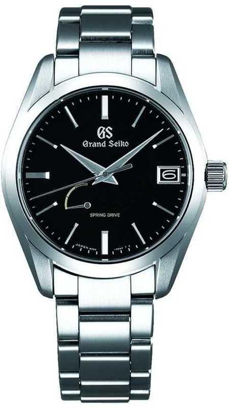 Grand Seiko SBGA285 Spring Drive Black Dial