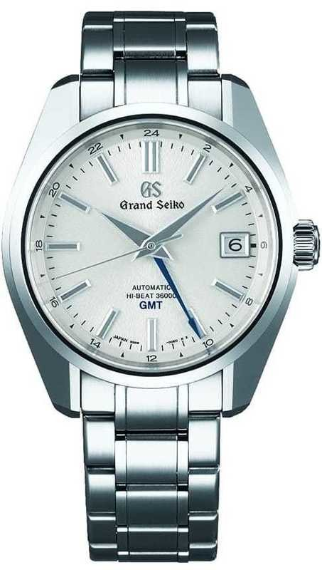 Grand Seiko Hi-Beat SBGJ201 GMT White Dial
