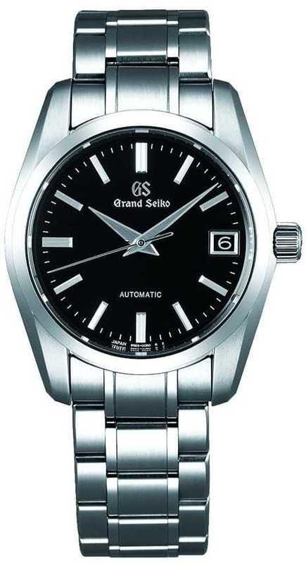 Grand Seiko Automatic SBGR253 Black Dial