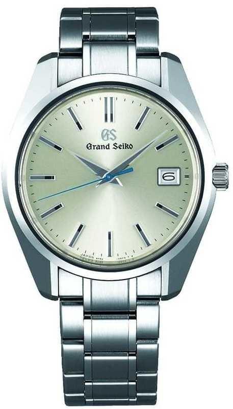 Grand Seiko Quartz SBGV205 Champagne Dial
