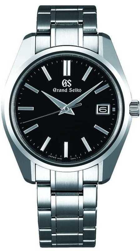 Grand Seiko Quartz SBGV207 Black Dial