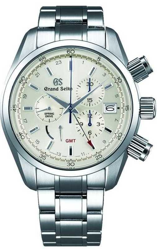 Grand Seiko Spring Drive Chronograph GMT SBGC201