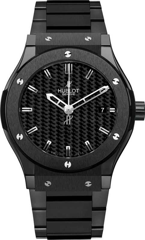 Hublot Classic Fusion Black Magic Bracelet 45mm 511.CM.1770.CM