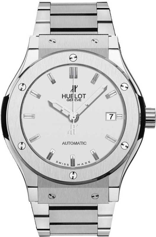 Hublot Classic Fusion Titanium Opalin Bracelet 42mm 542.NX.2610.NX