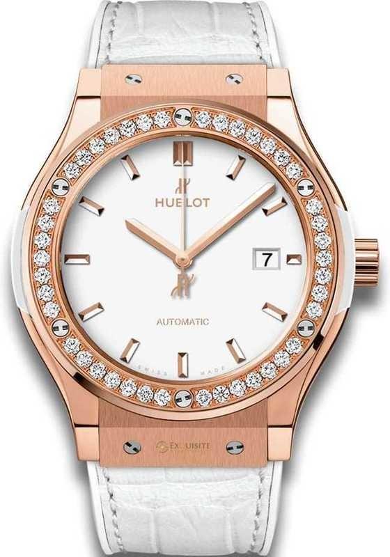 Hublot Classic Fusion King Gold White Diamonds 42mm 542.OE.2080.LR.1204