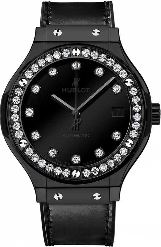 Hublot Classic Fusion Shiny Ceramic Diamonds 565.CX.1210.VR.1204