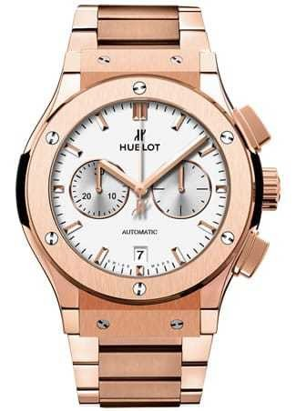 Hublot Classic Fusion Chronograph 18k Rose Gold on Bracelet 541.OX.2611.OX