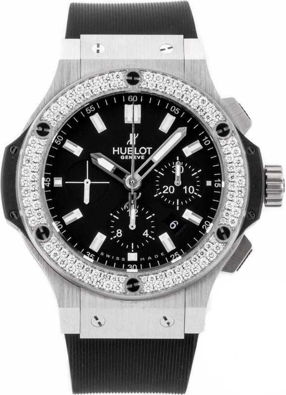 Hublot Big Bang Steel Diamonds 301.SX.1170.RX.1104