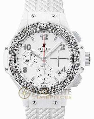 Hublot Big Bang Aspen White Ceramic Diamonds 342.CL.230.RW.114