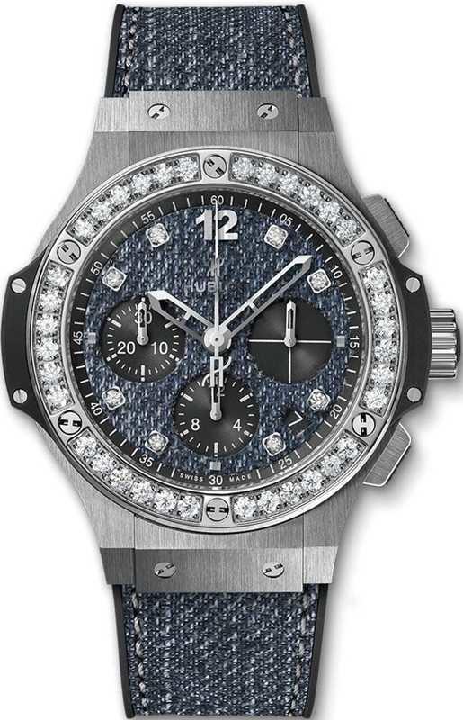 Hublot Big Bang Jeans Steel Diamonds 41mm 341.SX.2770.NR.1204.JEANS