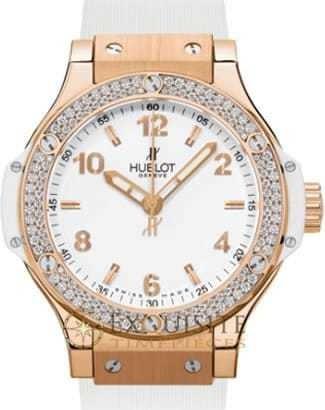 Hublot Big Bang Gold White Diamonds 38mm 361.PE.2010.RW.1104