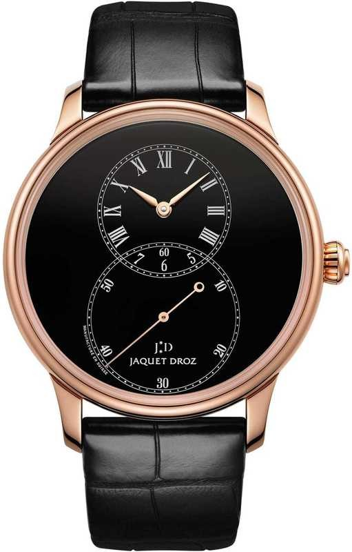Jaquet Droz Grande Seconde Black Enamel J014013200