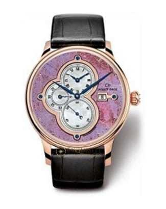 Jaquet Droz The Time Zones Lavender Jade J015133292