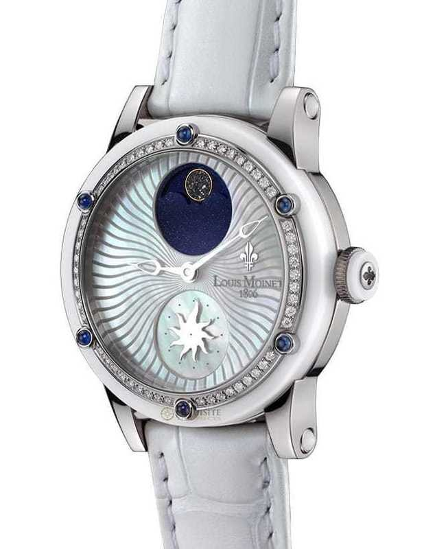 Louis Moinet Stardance Titanium & Ceramic 54 Diamonds and Sapphires LM-32.20DS.80
