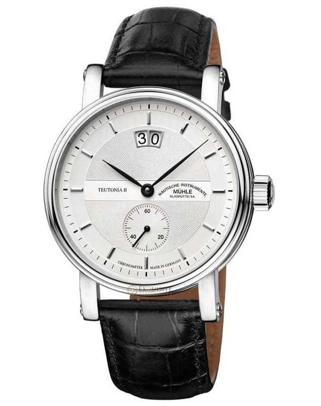 Mühle Glashütte Teutonia II Grossdatum Chronometer M1-33-75-LB