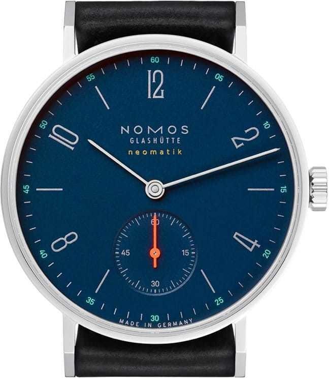 NOMOS Glashutte Tangente Neomatik Nachtblau