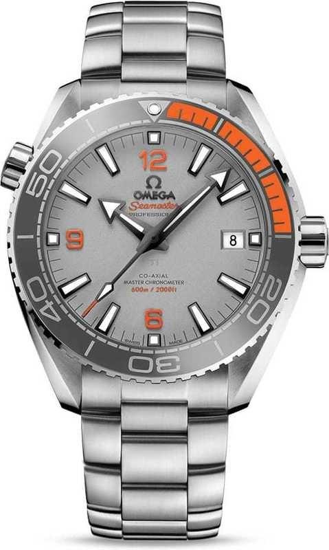 Planet Ocean 600M omega Co-Axial Master Chronometer 43.5mm on bracelet 215.90.44.21.99.001