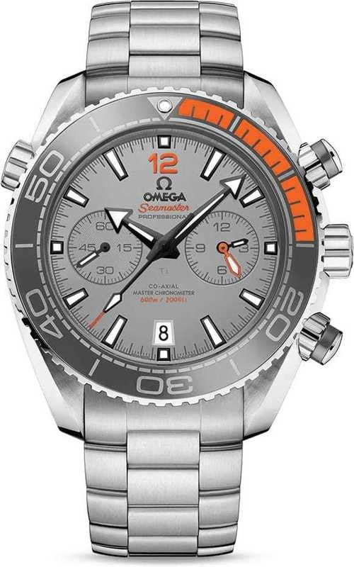 Planet Ocean 600M Omega Co-Axial Master Chronograph 45.5mm on bracelet 215.90.46.51.99.001
