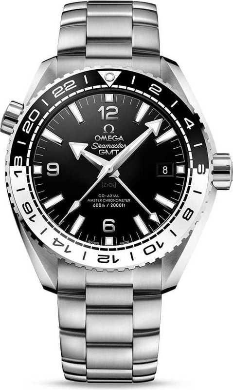 Planet Ocean 600M Omega Co-Axial Master Chronometer GMT 43.5mm on Bracelet 215.30.44.22.01.001