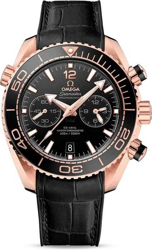 Planet Ocean 600M Omega Co-Axial Master Chronometer Chronograph 45.5mm Sedna Gold 215.63.46.51.01.001
