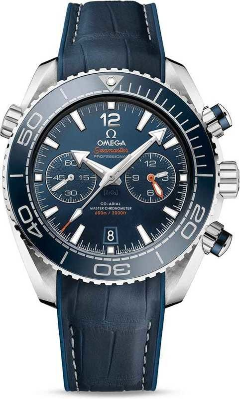 Planet Ocean 600M Omega Co-Axial Master Chronometer Chronograph 45.5mm 215.33.46.51.03.001