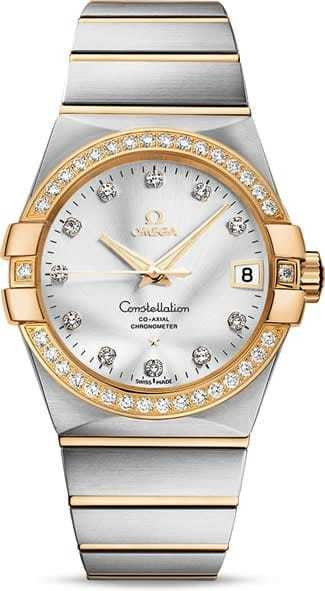 Constellation Omega Co-Axial 38mm 123.25.38.21.52.002