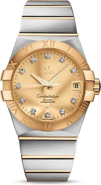 Constellation Omega Co-Axial 38mm 123.20.38.21.58.001