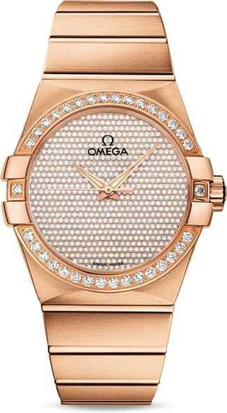 Constellation Omega Co-Axial 38mm 123.55.38.20.99.004
