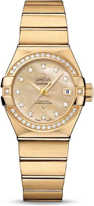 Constellation Omega Co-Axial 27mm 123.55.27.20.57.002